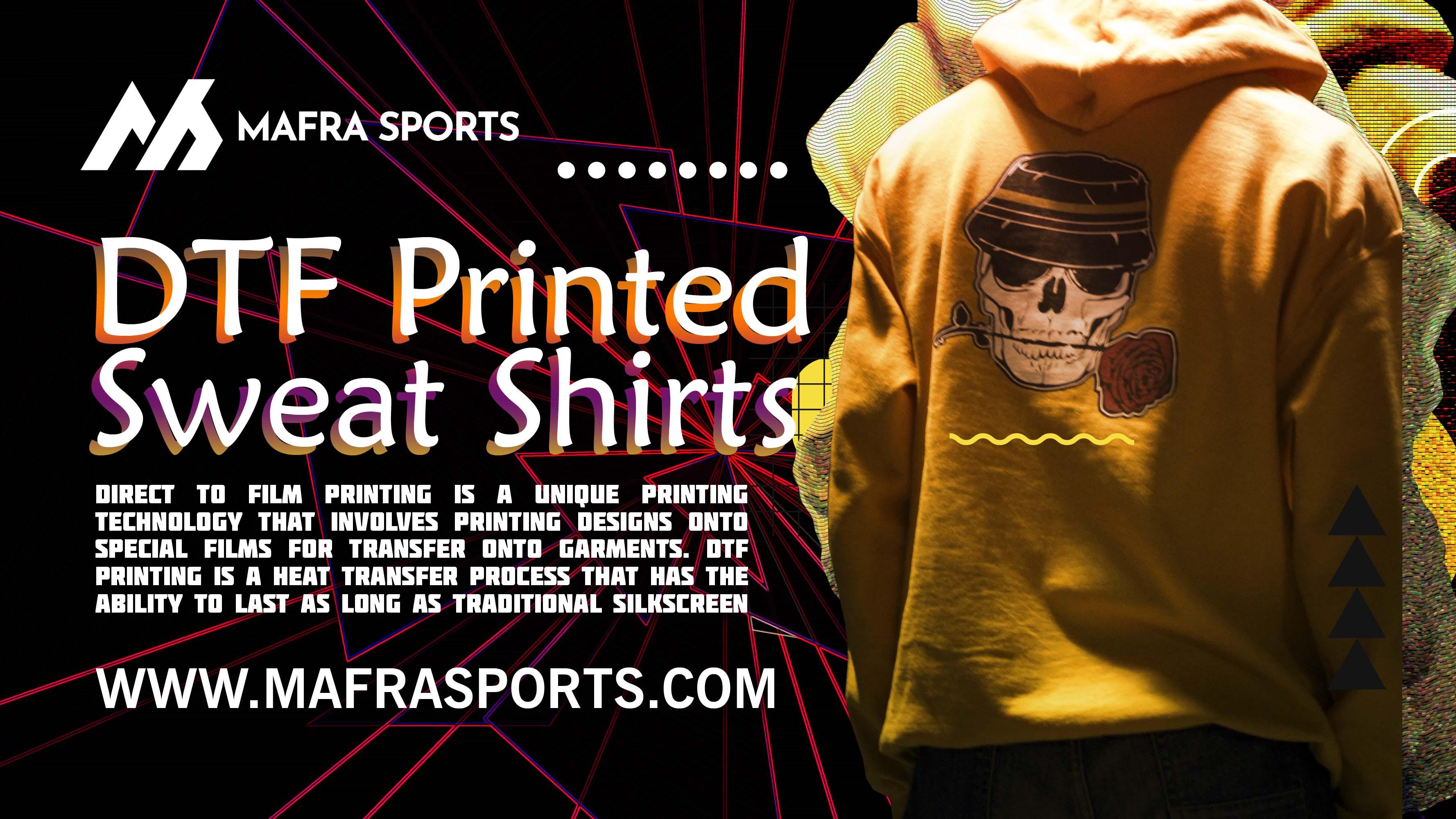 dtf printed sweatshirts