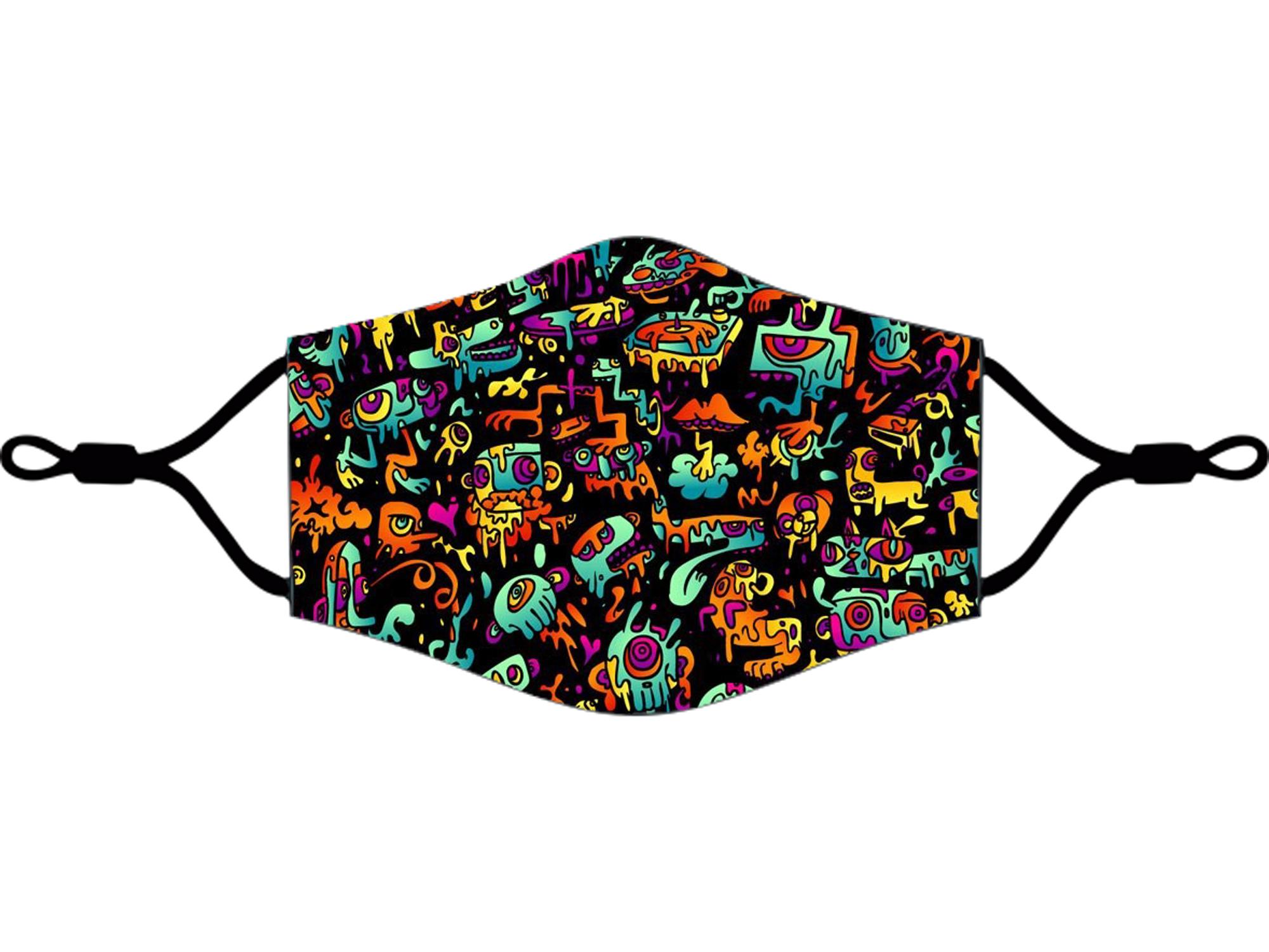 Adjustable Fabric Masks