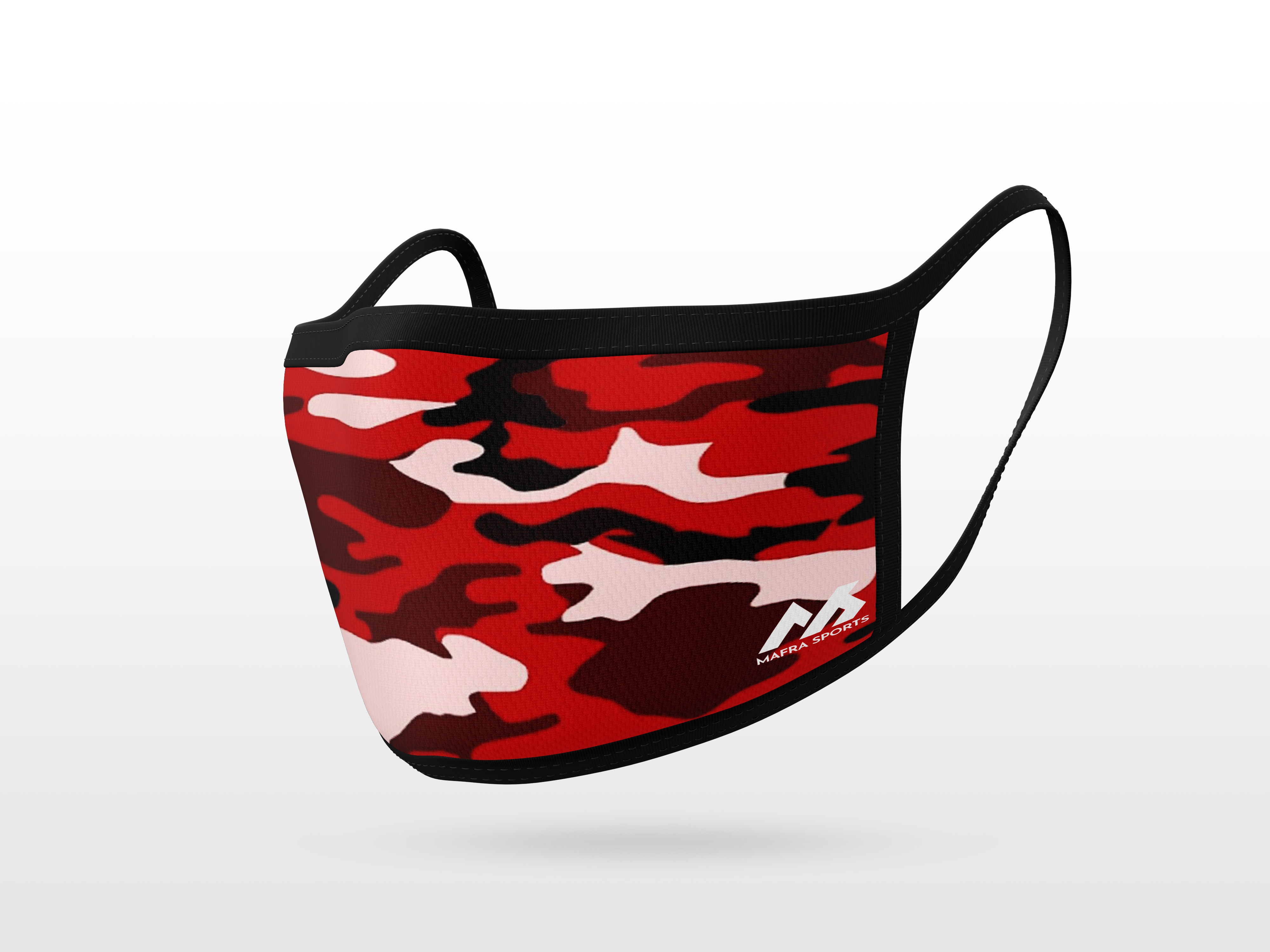 Red Camouflage Pattern Pattern